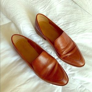Madewell Leather Frances Loafers